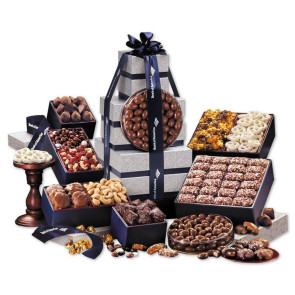 Executive Gourmet Food Gift Tower