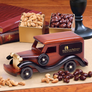 1930-Era Delivery Van with Chocolate Almonds & Extra Fancy Jumbo