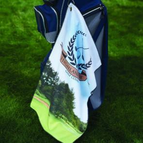 Microfiber Waffle Golf Towel (FOTO Vision)
