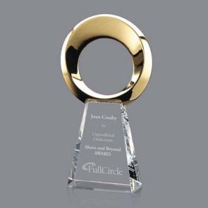 "Soledad Award - Gold/Optical 12"""
