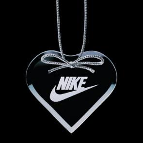 Bevelled Ornament - Heart