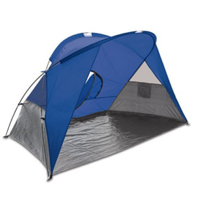 Cove Sun Shelter-Blue with grey accents