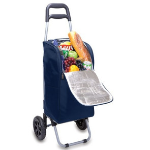 Cart Cooler with Trolley, (Navy)