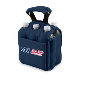 'Six Pack' Beverage Carrier, (Navy)