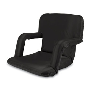 'Ventura' Portable Reclining Stadium Seat, (Black)