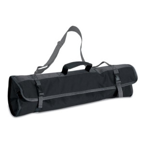 BBQ Tote-Black/Silver 3Pc Tool Set