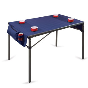 'Travel Table' Portable Folding Table, (Navy)