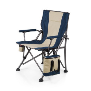 'Outlander' Camp Chair with Cooler, (Navy)