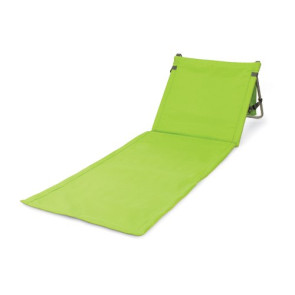 'Beachcomber' Outdoor Beach Mat & Tote, (Lime)