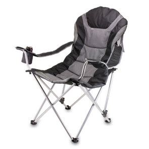 Reclining Camping Chair - Black