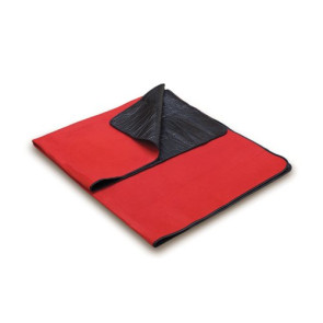 Blanket Tote - Red with Black