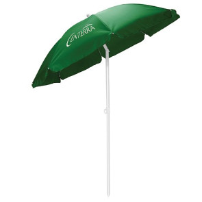 5.5' Portable Beach Umbrella, (Hunter Green)