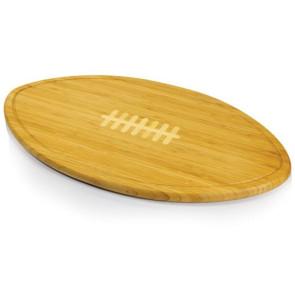 Kickoff- Football Cutting Board w/ serving tray