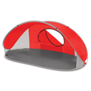 'Manta' Sun Shelter, (Red with Grey Trim)