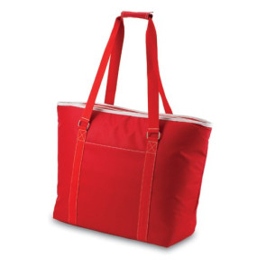 Tahoe- Red Oversized Cooler Tote