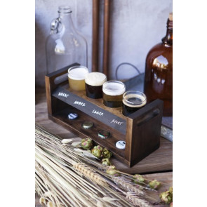 'Craft Beer Flight' Beverage Sampler