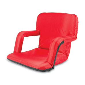 'Ventura' Portable Reclining Stadium Seat, (Red)
