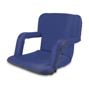 'Ventura' Portable Reclining Stadium Seat, (Navy)