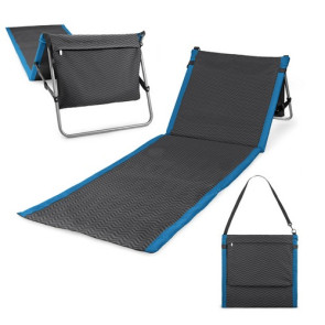 'Beachcomber' Outdoor Beach Mat & Tote, (Waves Collection)
