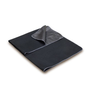 'Blanket Tote' Outdoor Picnic Blanket, (Black with Black Lining)