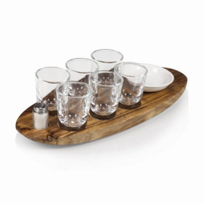 'Cantinero' Shot Glass Serving Tray