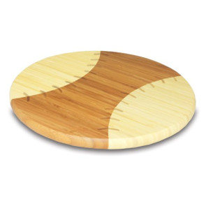 "Homerun! - 12"" Round Baseball Cutting Board"