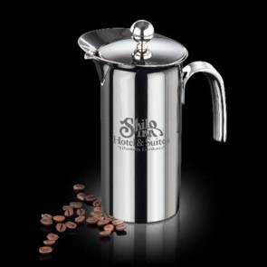 French Coffee Press - 18/8 Stainless Steel 26oz