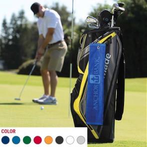 Jewel Collection Golf Towel w/ Tri-Fold Grommet (Screen Print)