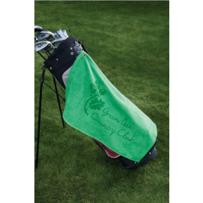 Diamond Collection Golf Towel w/ Corner Grommet (Screen Print)