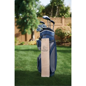 Diamond Collection Golf Towel w/ Tri-Fold Grommet (Screen Print)
