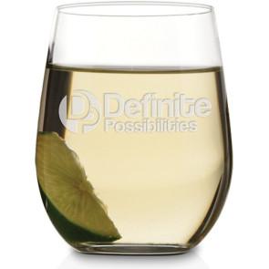 11.25 oz. Riedel 'O' Series Chardonnay - Deep Etch