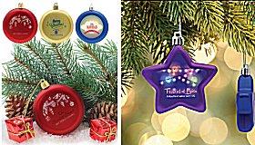 Custom Logo Novelty Ornaments