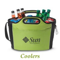 custom logo coolers