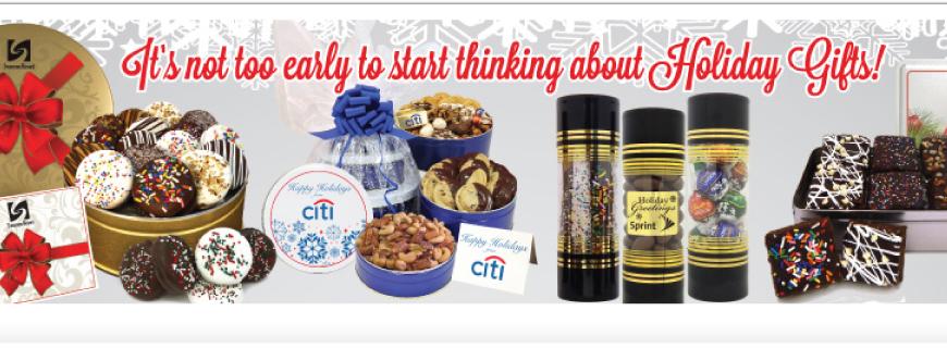 Custom Logo Gourmet Food Gifts