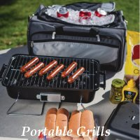 Company Logo Portable Grill Gifts