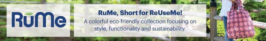 RuMe Reusable and Fashionable Bags