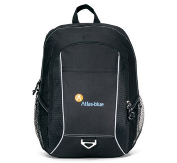 Atlas Computer Laptop Backpack - Black