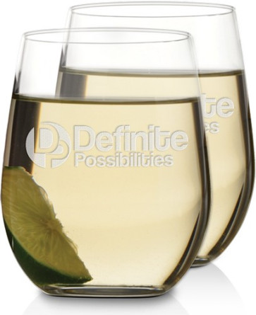 1f7349c3a98 Engraved Stemless Wine Glasses   Riedel O Viognier-Chardonnay Stemless Wine  Glass Sets   Personalized Wine Glass   Custom Wine Glasses