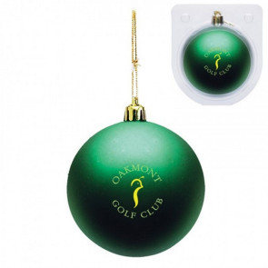 Custom Christmas Ornament - Shatterproof - Green