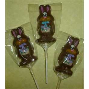 Chocolate Bunny Pop on a Stick