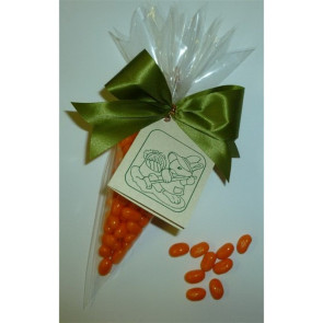 Jelly Bean Carrot with Fancy Bow