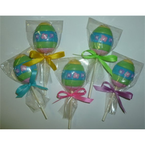 Mini Chocolate Easter Egg Pop on a Stick