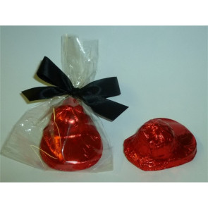 Foiled Chocolate 3D Firemans Helmet