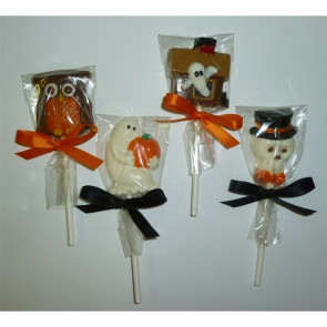 Halloween Chocolate Mini Pops - Set of 2