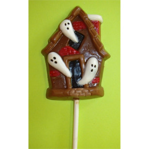 Chocolate Halloween Haunted House Pop