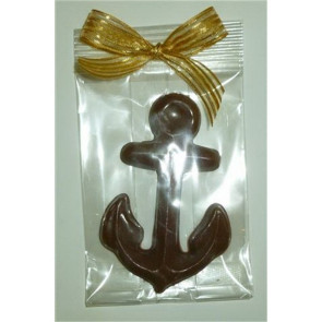 Milk Chocolate Anchor in Cello with Bow