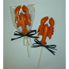 Chocolate Lobster Pop