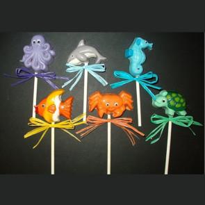 Sea Critter Chocolate Mini Pops