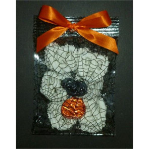 Halloween Spider Web Pretzel Knots