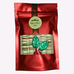 Chocolate Holiday Pretzel Pouch